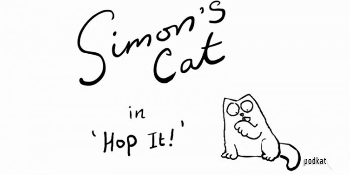 Simon's Cat in 'Hop It'