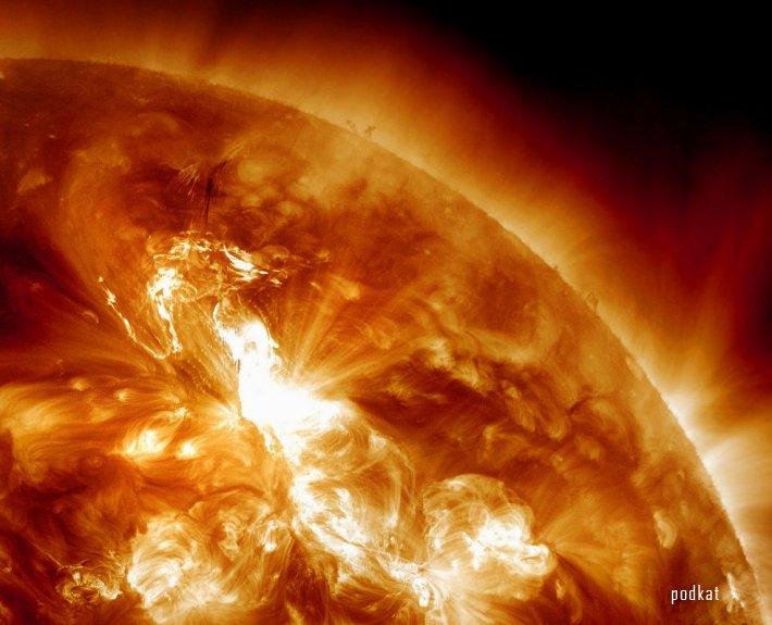 Сильнейшая вспышка на Солнце с 2005 года