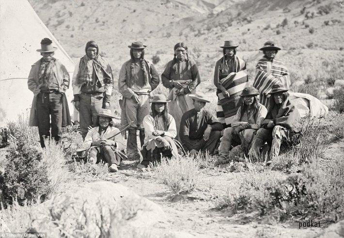 Дикий Запад. Фото 1871-1882 годов